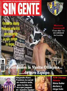 Nueva Edicion de la Revista SIN GENTE