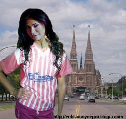 Mariana de Melo Visita la Basilica de Lujan